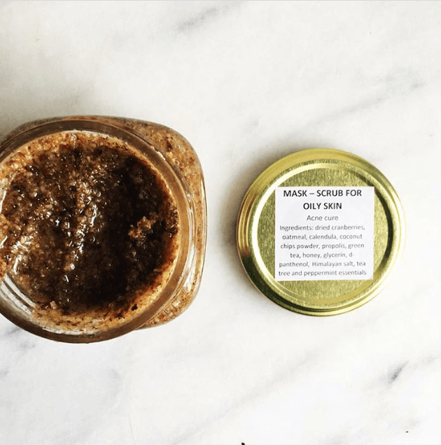 Black Lotus – Mask/Scrub for Oily Skin (Acne Cure)