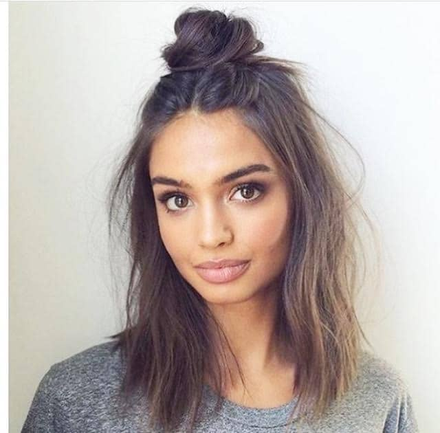Hair Inspo: The topknot is the new messy bun!
