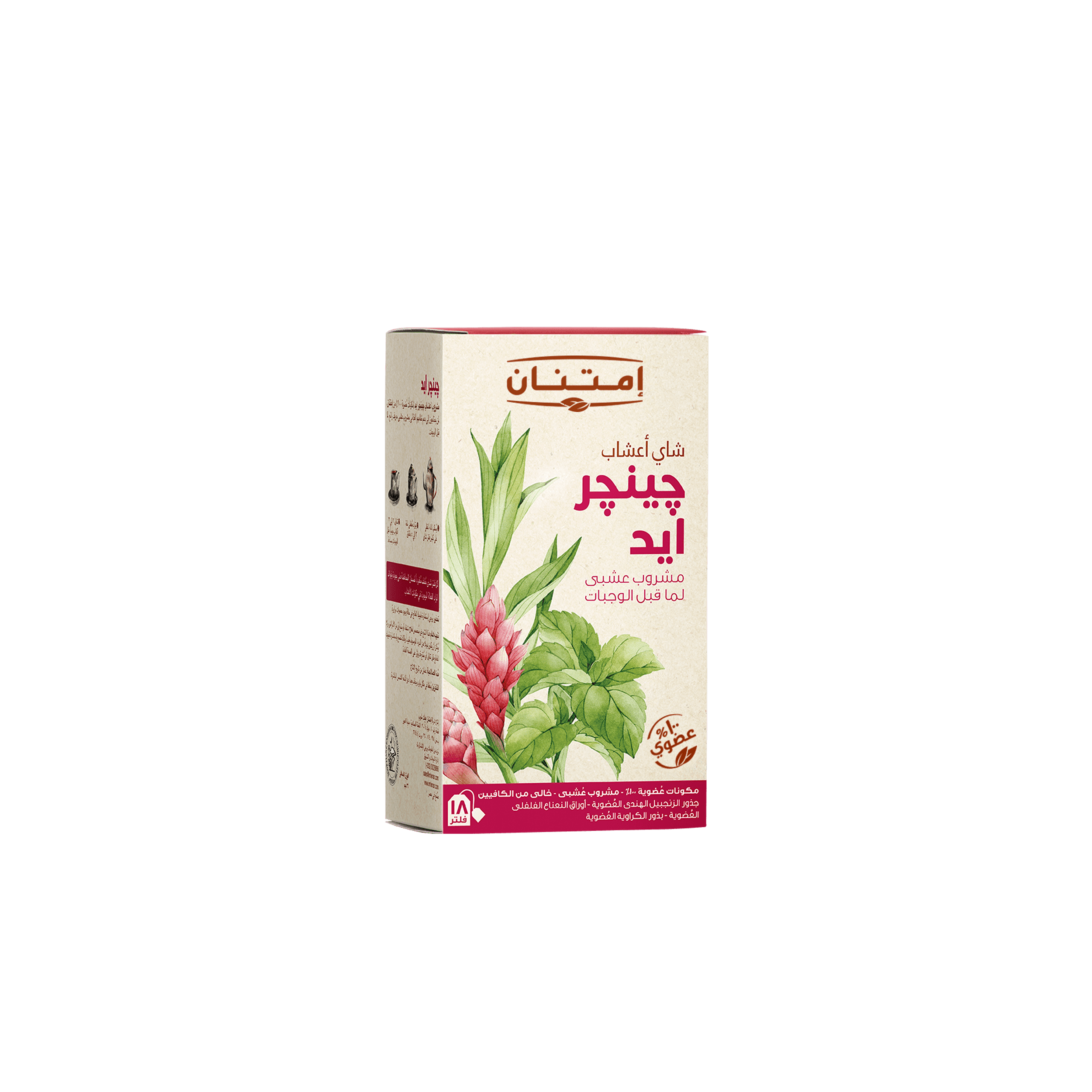 Ginger Aid Tea • Herbal Teas • Source Beauty Egypt