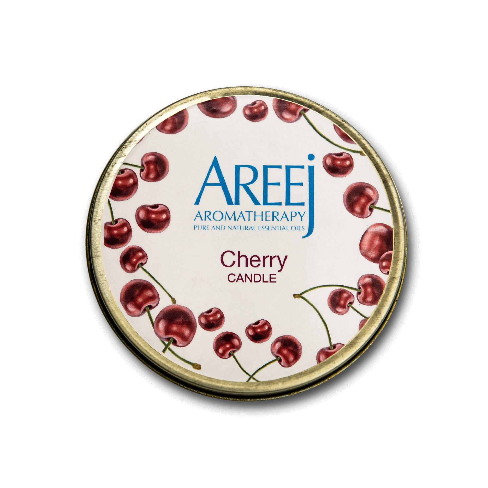 Areej Aromatherapy Cherry Candle • Fragrance • Source Beauty Egypt