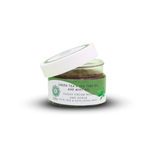 Green Tea Mask & Scrub • Skincare • Source Beauty Egypt