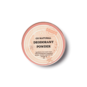 Natural Powder Deodorant • Go Natural • Source Beauty Egypt