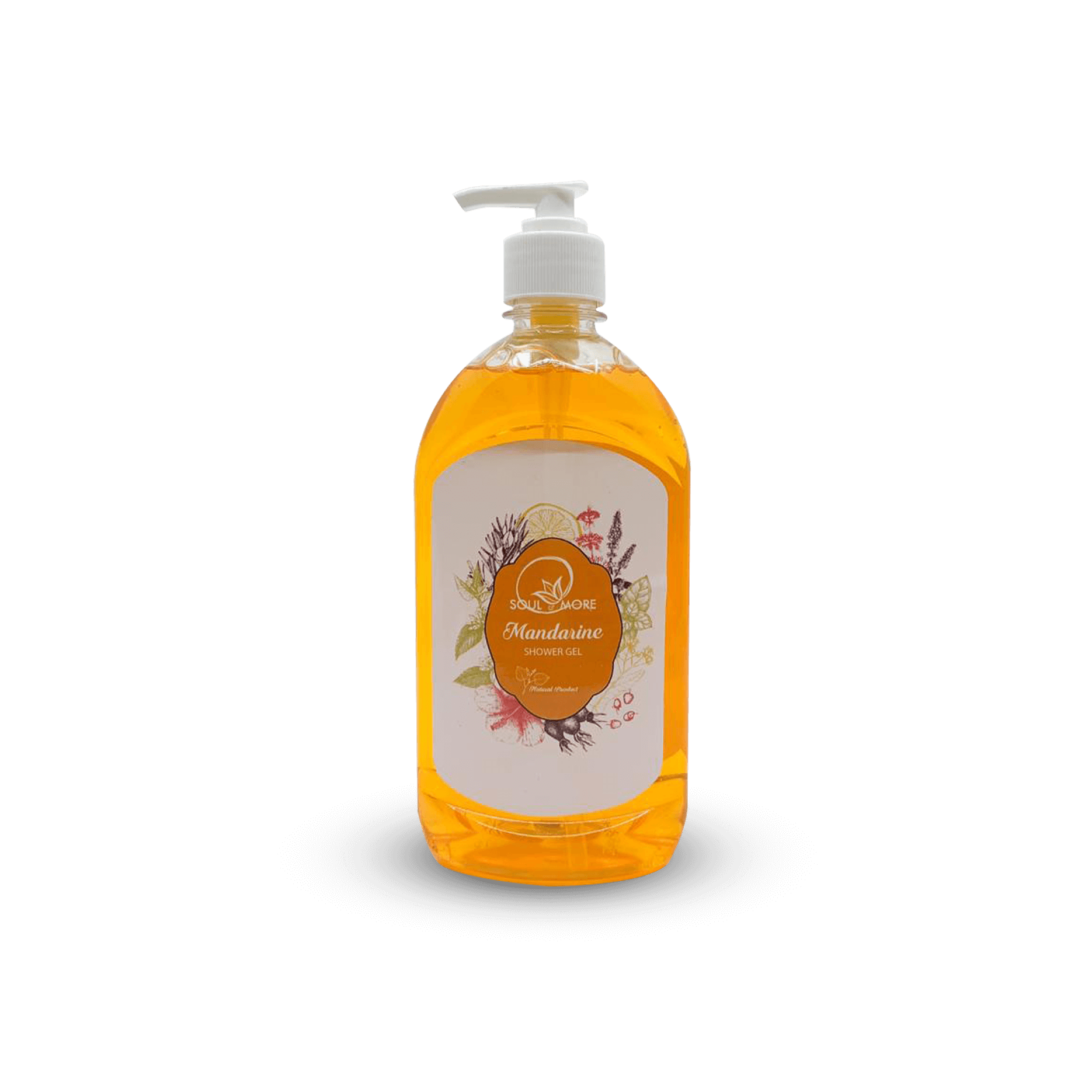 Mandarine Shower Gel • Soul & More • Source Beauty Egypt