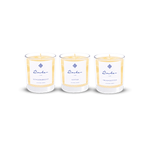 Sweet Trio Candle Gift Set • Roshan Candles • Source Beauty Egypt
