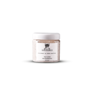 Coconut and Shea Butter Facial Scrub • EARTHOWLS • Source Beauty Egypt