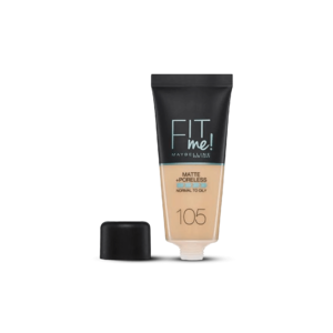 Fit Me Matte & Poreless Foundation - Natural Ivory • Source Beauty Egypt