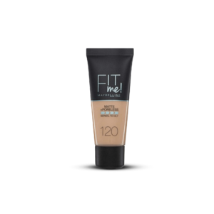 Fit Me Matte & Poreless Foundation - 120 Classic Ivory • Source Beauty