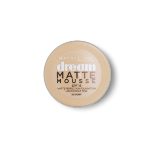 Dream Matte Mousse Foundation SPF 15 - 10 Ivory • Source Beauty Egypt