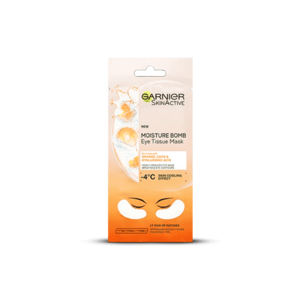 Hydra Bomb Orange Juice Eye Mask • Garnier • Source Beauty Egypt
