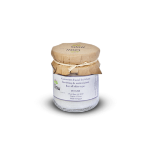 Geranium Facial Exfoliant • Glow With Sarah • Source Beauty Egypt