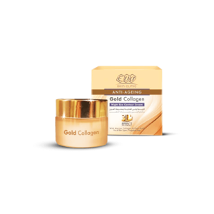 Gold Collagen Night Eye Contour Cream • Eva Cosmetics • Source Beauty Egypt